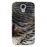Wild Turkey Feathers I Abstract Nature Design Galaxy S4 Cover