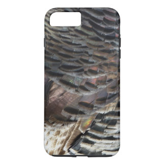Wild Turkey Feathers I Abstract Nature Design iPhone 7 Plus Case