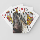 Wild Turkey Feathers I Abstract Nature Design Playing Cards