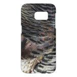 Wild Turkey Feathers I Abstract Nature Design Samsung Galaxy S7 Case