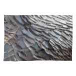 Wild Turkey Feathers II Abstract Nature Design Hand Towel