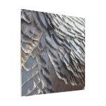 Wild Turkey Feathers II Abstract Nature Design Metal Photo Print