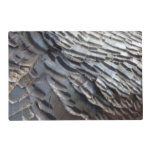 Wild Turkey Feathers II Abstract Nature Design Placemat