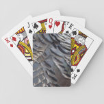 Wild Turkey Feathers II Abstract Nature Design Playing Cards