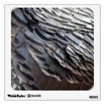 Wild Turkey Feathers II Abstract Nature Design Wall Sticker