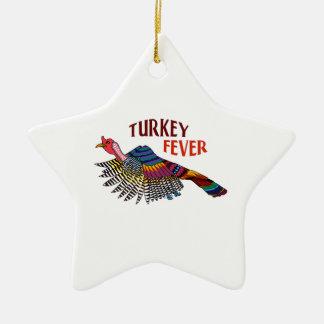 WILD TURKEY FEVER CHRISTMAS ORNAMENTS
