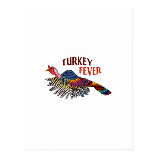 WILD TURKEY FEVER POSTCARDS