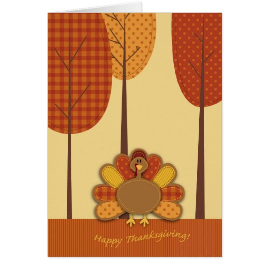 Wild Turkey Forest Card