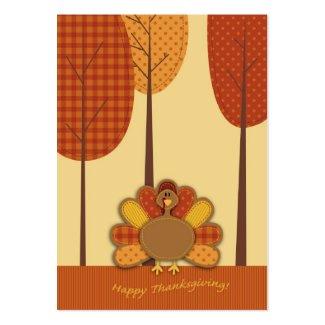 Wild Turkey Forest Gift Tag profilecard