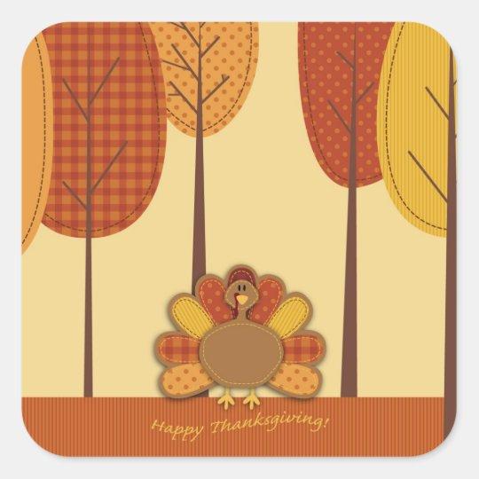 Wild Turkey Forest Sticker 2