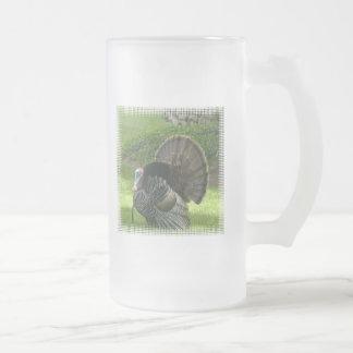 Wild Turkey Frosted Beer Mug