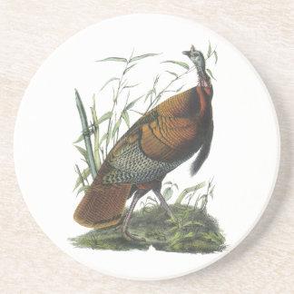 Wild Turkey, John Audubon Beverage Coasters
