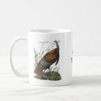 Wild Turkey, John Audubon Classic White Coffee Mug