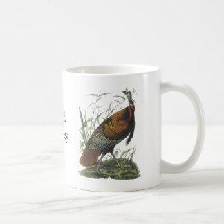 Wild Turkey, John Audubon Coffee Mug