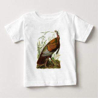 Wild Turkey John James Audubon Birds of America Baby T-Shirt