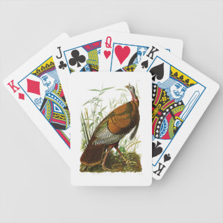 Wild Turkey John James Audubon Birds of America Bicycle Playing Cards