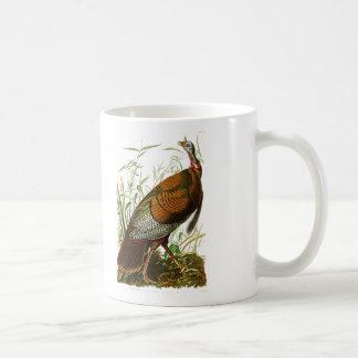 Wild Turkey John James Audubon Birds of America Classic White Coffee Mug