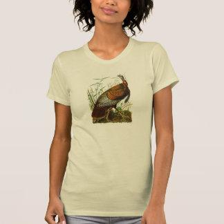 Wild Turkey John James Audubon Birds of America T-Shirt