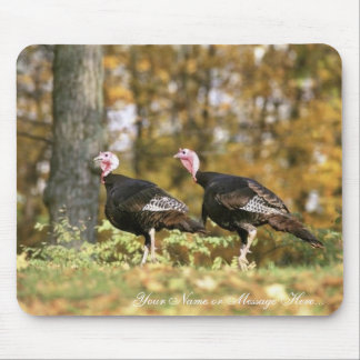 Wild turkey mouse pad