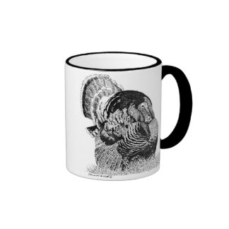 Wild Turkey Ringer Coffee Mug