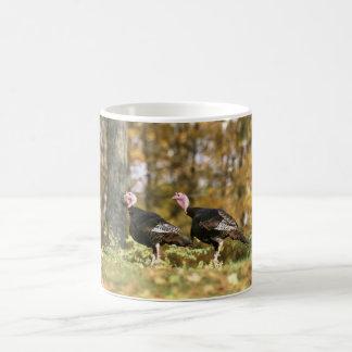 Wild turkey classic white coffee mug