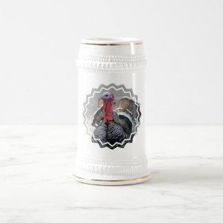 Wild Turkey Picture Beer Stein Mugs