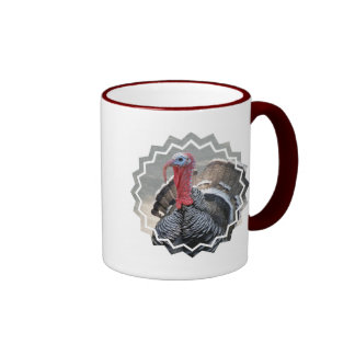 Wild Turkey Picture Coffee Mug