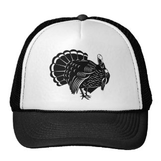 wild turkey retro mesh hats