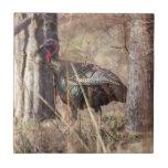 Wild Turkey Small Square Tile