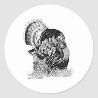Wild Turkey Stickers