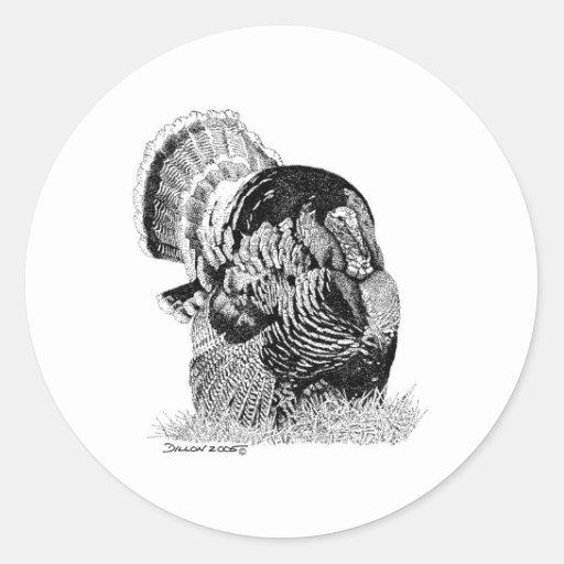 Wild Turkey Stickers
