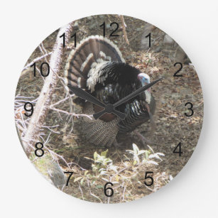 Wild Turkey Wall Clocks Zazzle