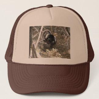 Wild Turkey Strutting for the Ladies Trucker Hat