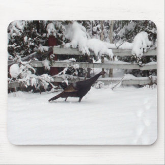 Wild Turkey-Thanksgiving Mouse Pad