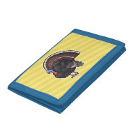 Wild Turkey Tri-fold Wallets