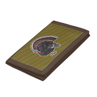 Wild Turkey Tri-fold Wallets