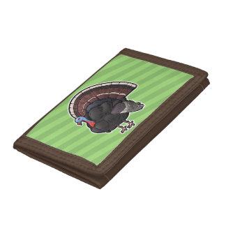 Wild Turkey Trifold Wallets