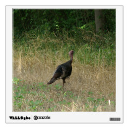 Wild Turkey, Wall Decal. Wall Sticker