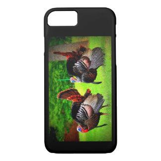 Wild Turkeys Decorated Phone Case