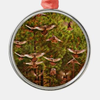 Wild Turkeys Ornament