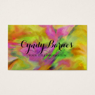 Wild Tye Dye Business Card