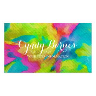 Wild Tye Dye Business Cards