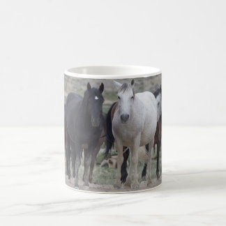 Wild Utah Mustangs Classic White Coffee Mug