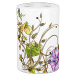 Wild Vines and Flowers Soap Dispenser & Toothbrush Holder