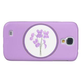 Wild Violet Watercolor Bouquet iPhone 3 Case