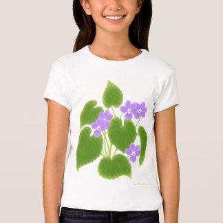 Wild Violets Girls Baby Doll T-Shirt