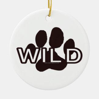Wild (w/Paw) Christmas Tree Ornaments