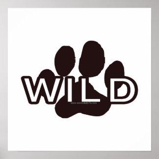Wild w Paw Print