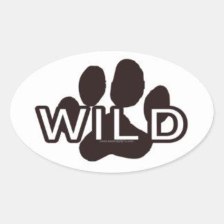 Wild (w/Paw) Stickers