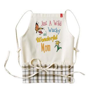 Wild Wacky Wonderful Mom Gifts Zazzle HEART Apron